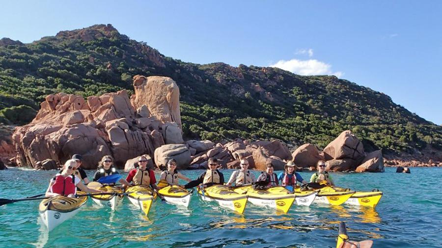 Escursioni in kayak in Sardegna