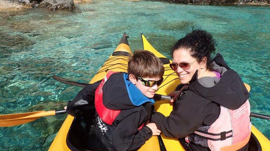 Noleggio kayak in Sardegna